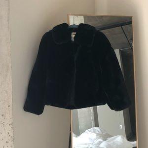 John Galt Faux Fur Jacket